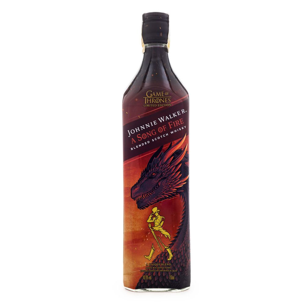Whisky Johnnie Walker A Song of Fire - Ed. Limitada 750ml