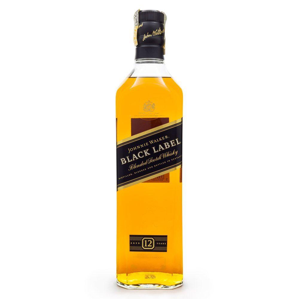Johnnie Walker Black Label Blended Scotch Whisky 750ml