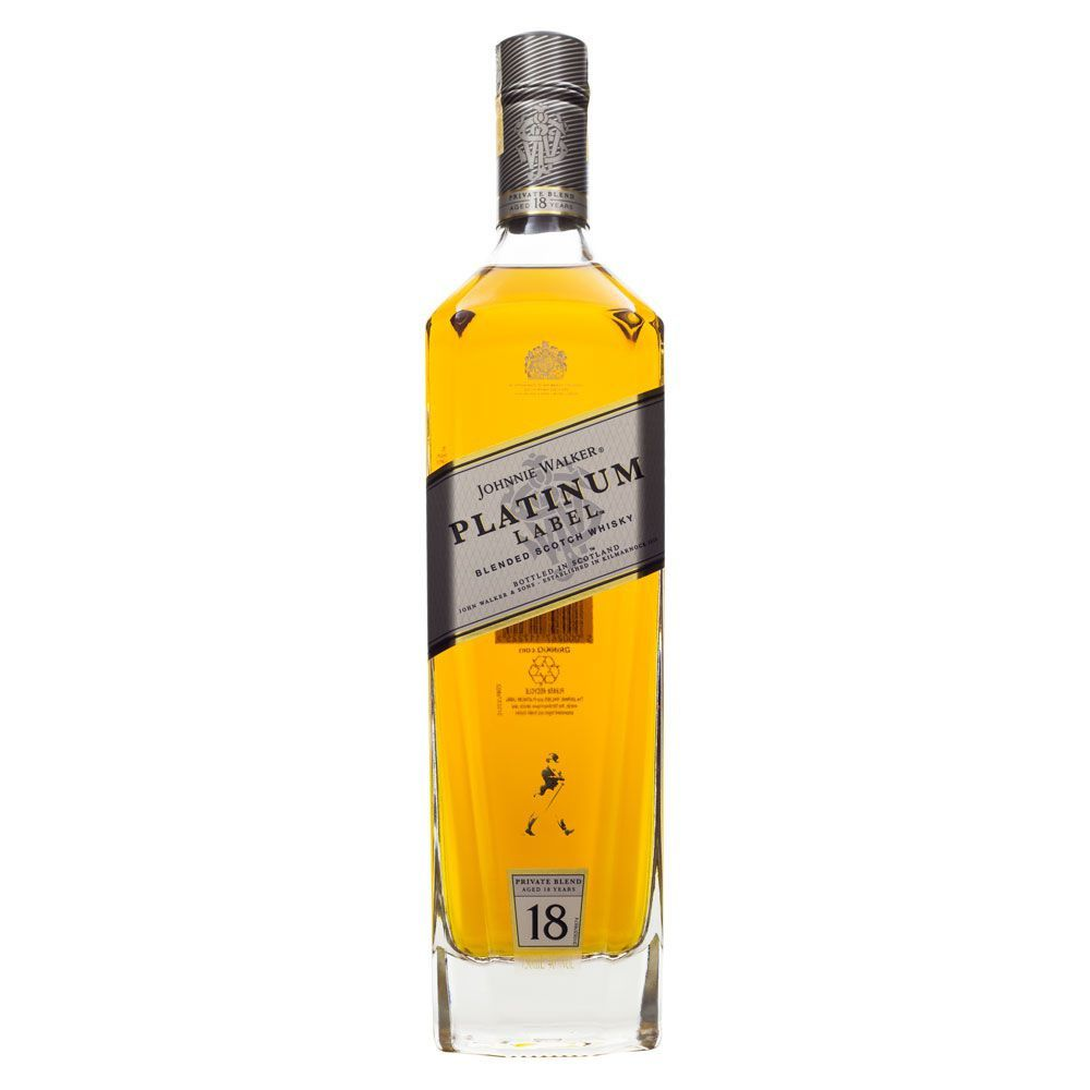 Whisky Johnnie Walker Platinum Label 750ml