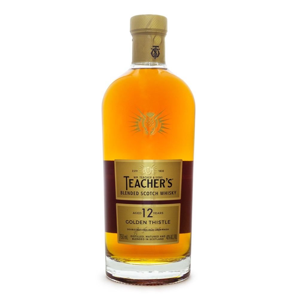 Teacher's 12 Anos Golden Thistle Blended Scotch Whisky 750ml