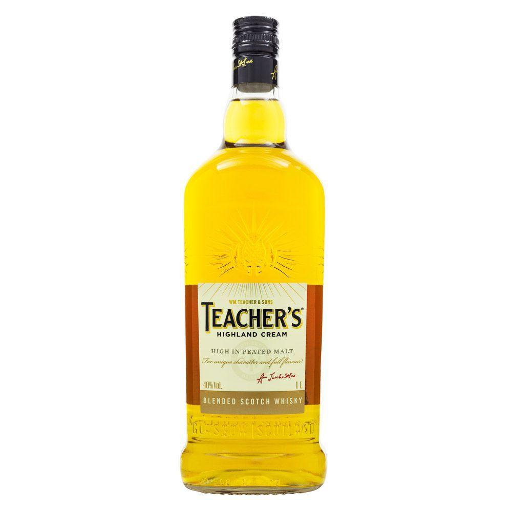 Teacher's Highland Cream Blended Scotch Whisky 1L