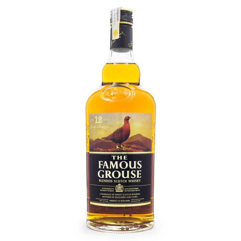 Whisky The Famous Grouse 12 Anos Gold Reserve 1L