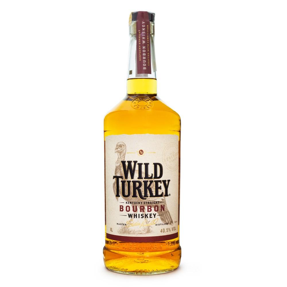 Wild Turkey Bourbon Whiskey 1L