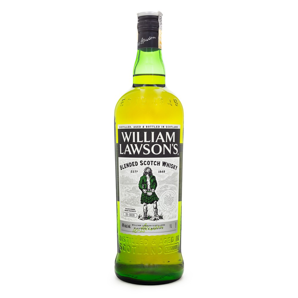 William Lawson's Blended Scotch Whisky 1L