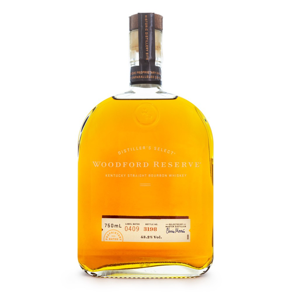 Woodford Reserve Bourbon Whiskey 750ml