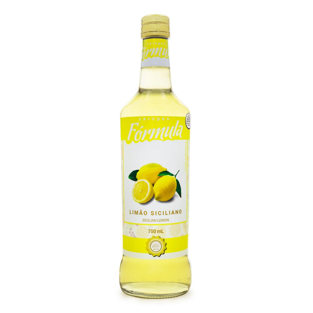 Xarope de Limão Siciliano Fórmula 700ml