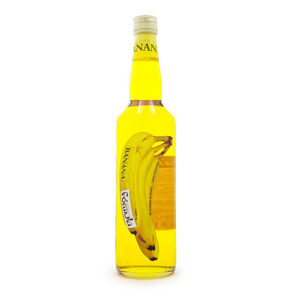 Xarope de Banana Fórmula 720ml