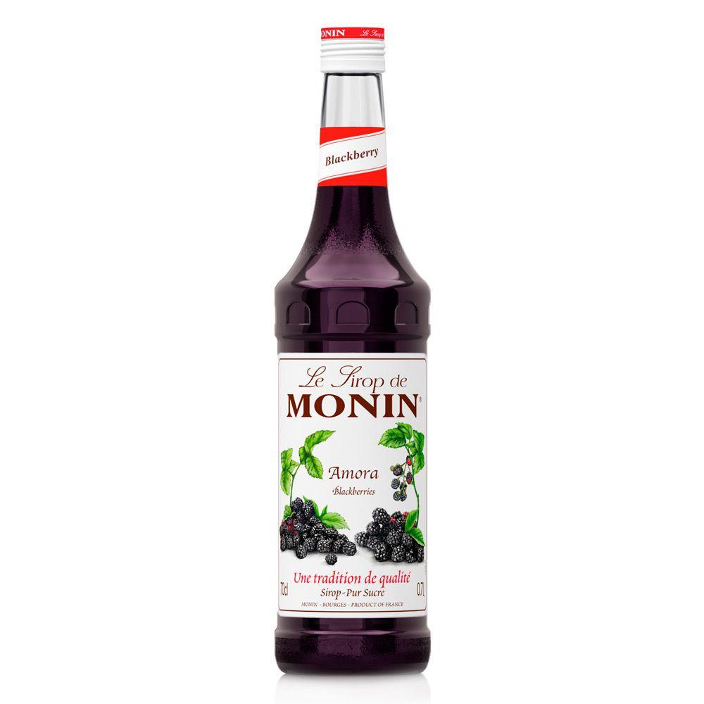 Xarope Monin Amora Blackberry 700ml