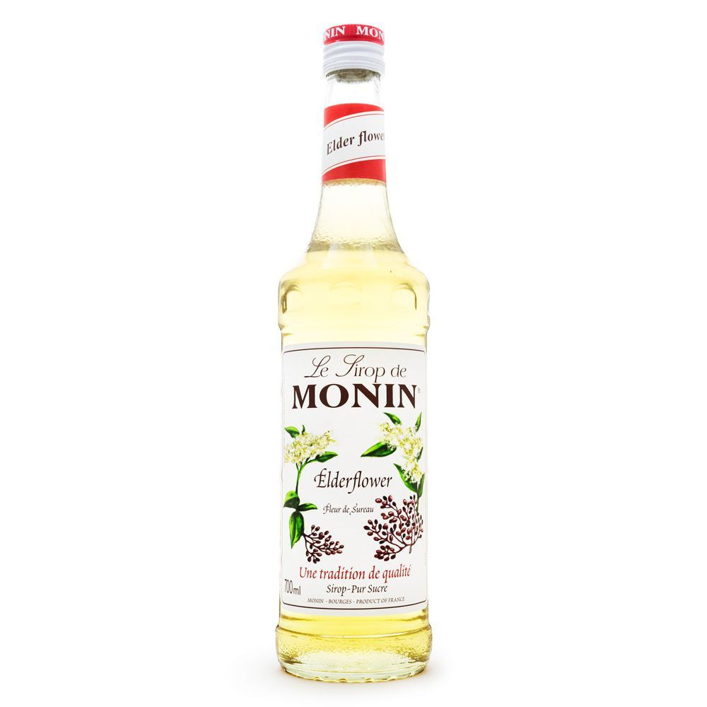 Xarope Monin Elderflower - Flor de Sabugueiro 700ml