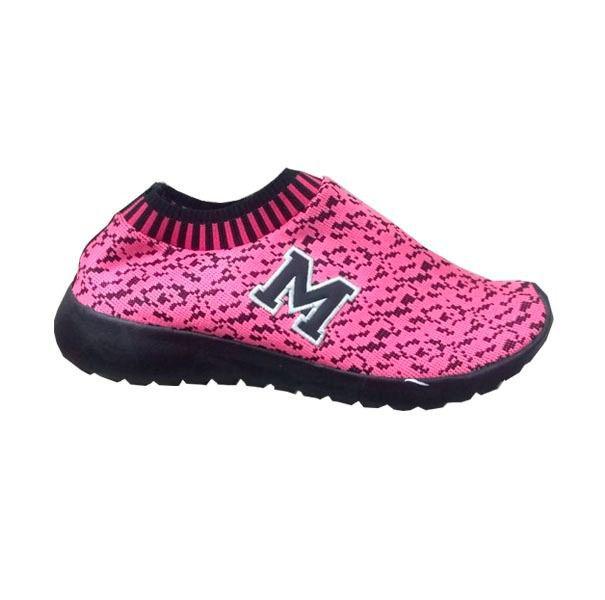 Tenis Marathon Confort Anfibio Neoprene Pink/Preto