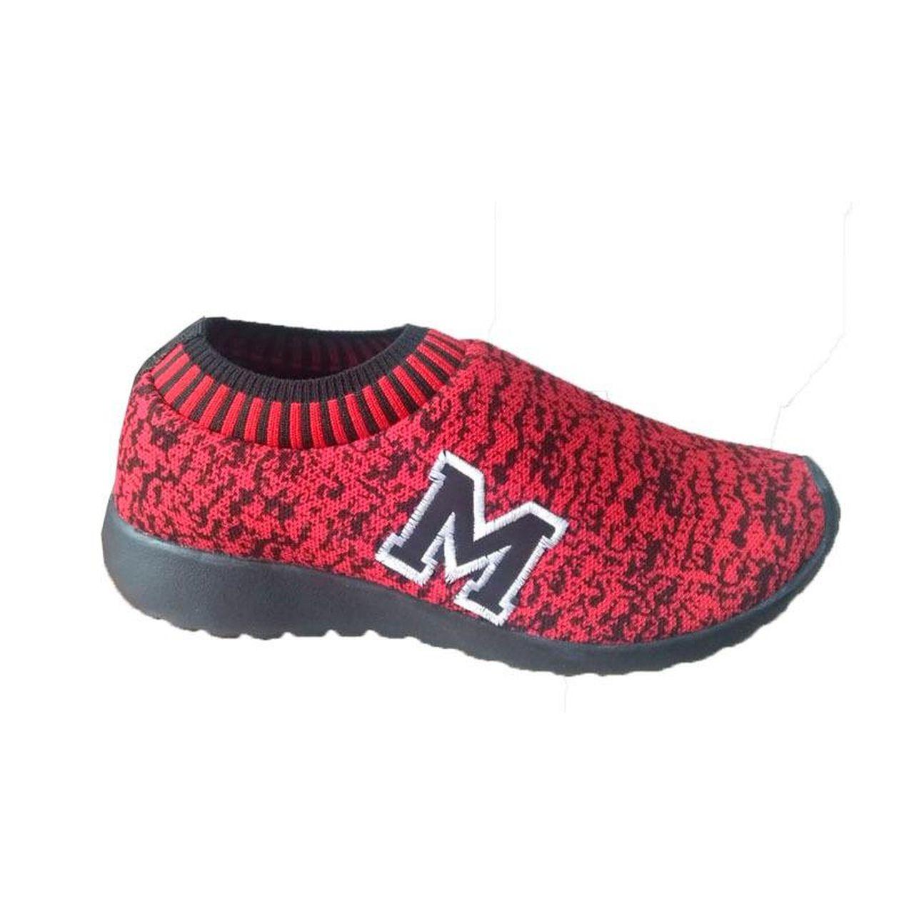 Tenis Marathon Confort Anfibio Neoprene Vermelho/Preto