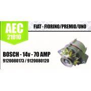 Alternador FIAT FIORINO PREMIO UNO BOSCH 14V 70A 9120080173 9120080120 AEC21010