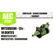 Motor de arranque CHRYSLER Grand Caravan Journey MITSUBISHI 12V 10 DENTES M000T32371ZC M0T32371ZC 04608800AE 4609058 M001T78581ZC AEC11101
