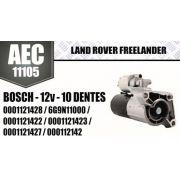 Motor de arranque LAND ROVER FREELANDER BOSCH 12V 10 DENTES 0001121428 0001121422 0001121427 6G9N11000 0001121423 000112142 AEC11105
