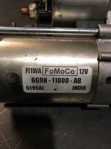 Motor De Arranque Focus 2.0 16v Automático