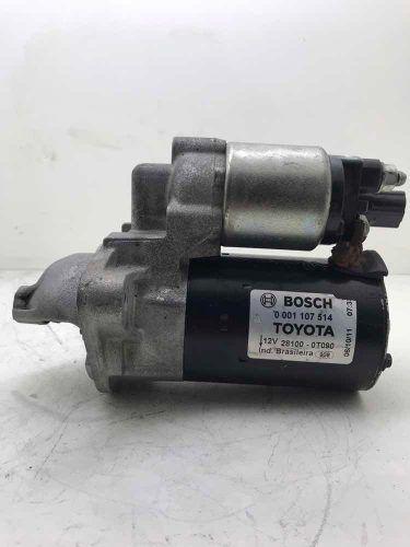 Motor de Partida Arranque Toyota Corolla 2.0 1.8 2010 12V 9D 0001107514  281000T091 0001107529