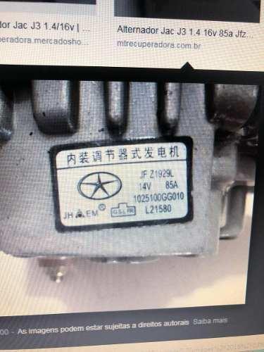 Estator Alternador Jac Motors Jfz1929l 14 Volts 85 Amperes
