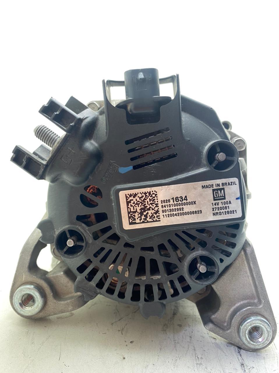 ALTERNADOR 14V 100AMP 901302992 GM ONIX 1.0L MFI 4CIL SOHC 2013 A 2019 ONIX 1.4L MFI 4CIL 2720061 NRG12S021 26261634