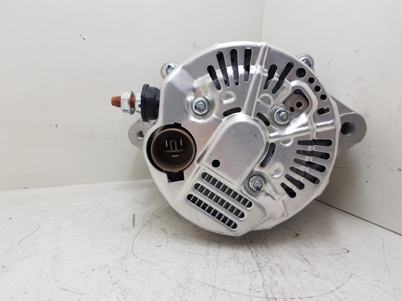 Alternador JHON DEERE Motor 6 466 DIESEL CUMMINS (POLIA DUPLA) DENSO 14V 120A RE36246 RE37201 10459495 1002116030 1002116031 100216050 1002116051 9020405 1002116050 E 70630 D 10402 SL A0251 AEC27025