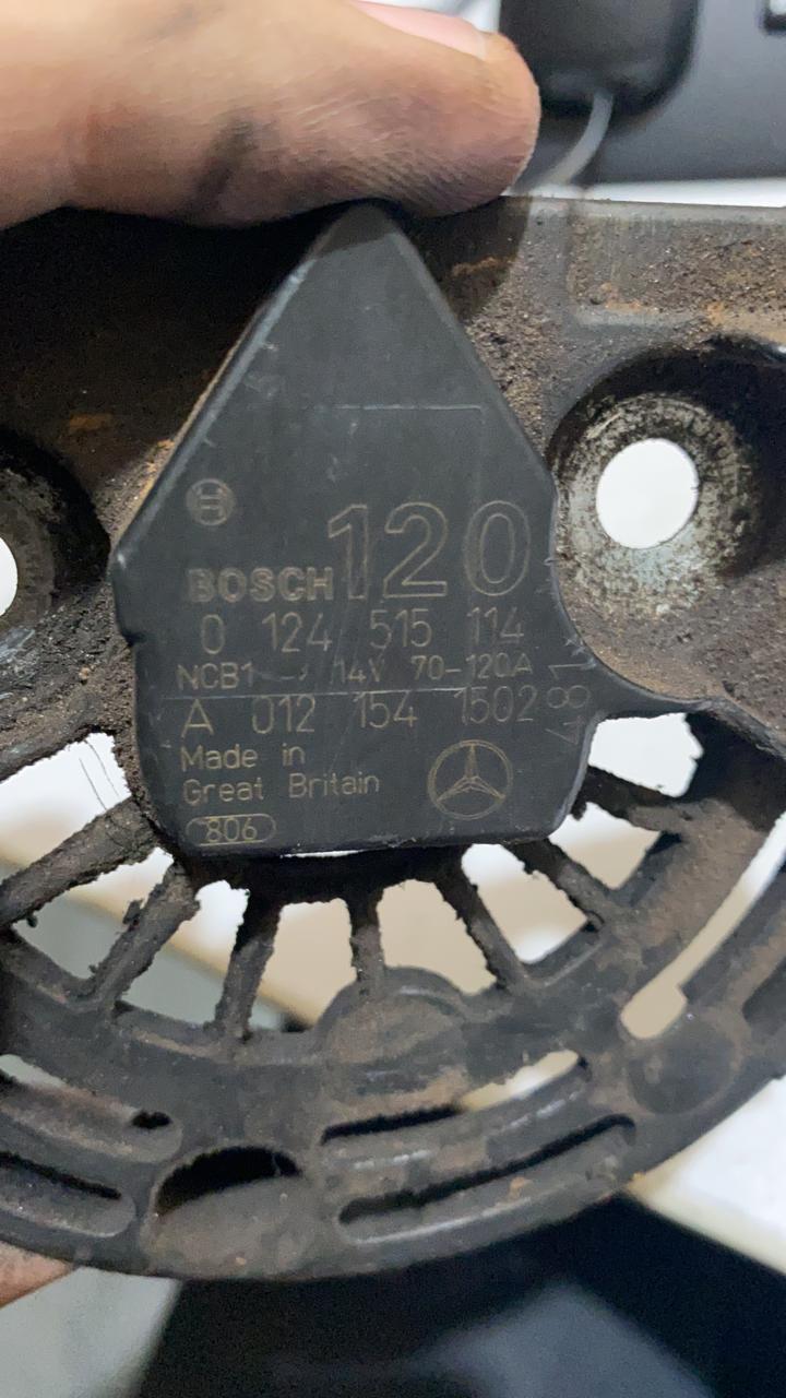 Alternador MBB ACCELO SPRINTER CDI 313 OM 611 BOSCH 14V 150A 0124325039 0124515064 0124515114 0121542402 A0131541502 A000 906 30 00 A009063000