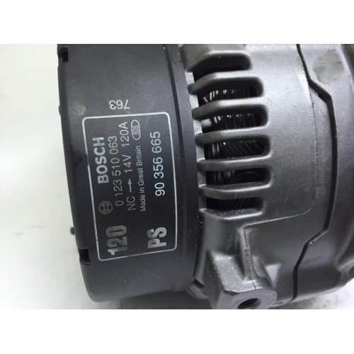 Alternador Astra Vectra Zafira 120AMP 439427 0124515082 SG10B012 10892516 SG10b034 0124515089 0124515082 GM93322958 BOSCH 0124515089