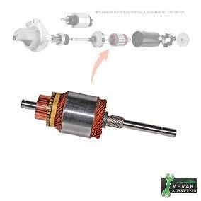 Induzido Gol Bosch 1300 1600 10D 12V PW138