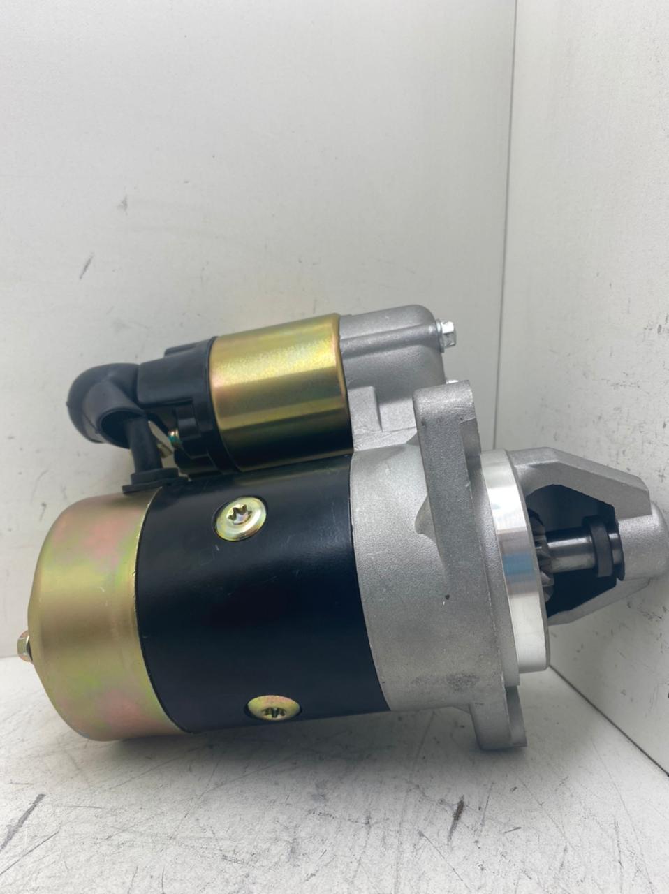 Motor de arranque DYNAPAC YANMAR TOYAMA XP TDE110EXP 418 CC L40S L60S LS100 Ls75 GA220 MITSUBA 14V 8D S114 414 S114 651 11436177011 11436277010 AEC17023