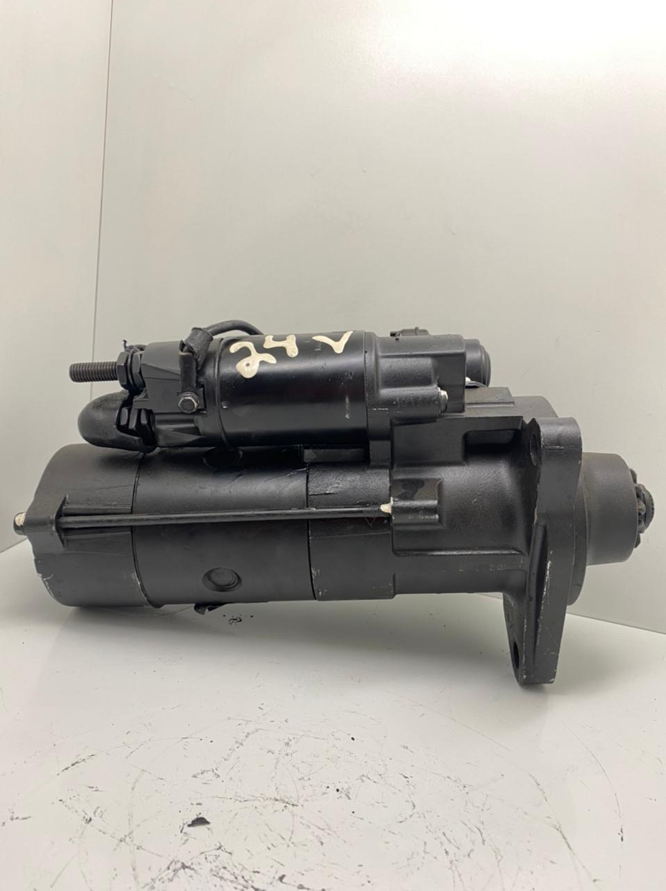 Motor de arranque IVECO Strallis 380 Trakker Euro Trakker MITSUBISHI 24V 12 DENTES M009T61671 M9T61671 M009T61671ZA 42498715 504042667