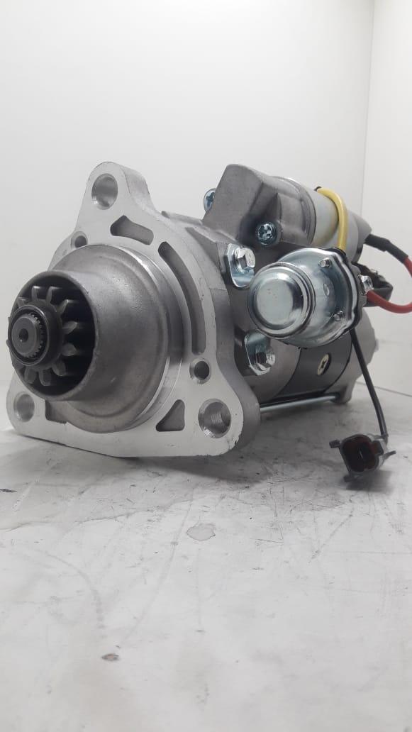 Motor de arranque IVECO Strallis 380 Trakker Euro Trakker MITSUBISHI 24V 12 DENTES M009T61671 M9T61671 M009T61671ZA 42498715 504042667 AEC14112
