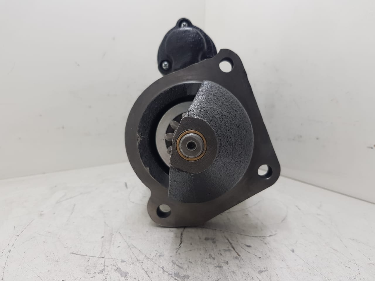 Motor de arranque JCB Diesel Max Economax NA TC TCA TCAE ISKRA 24V 11 DENTES 11131995 11132130 11131805 11131849 K11131303 AEC17071