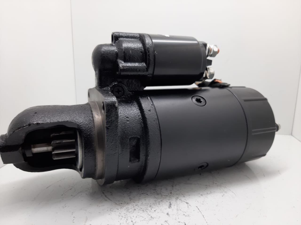 Motor de arranque MBB MANCAL EM Pé MODELO JF L124 L1217 CASE W18D W20E BOSCH 24V 9 D 0986012940 9000083064 752087601 A3431517201 12709015 E 20604 D 20216 AEC14053