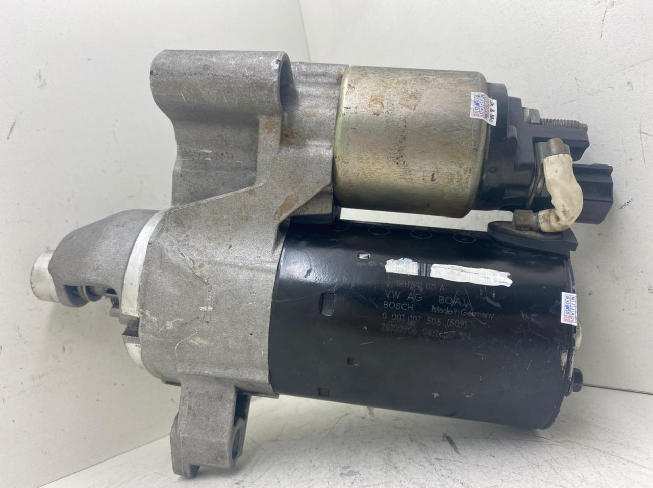Motor de Partida Arranque Audi A4 S4 8K A5 Q5 2.0 TFSI 10D 12V 0001107508509 0001107509 000117508 20100906 06H911021A