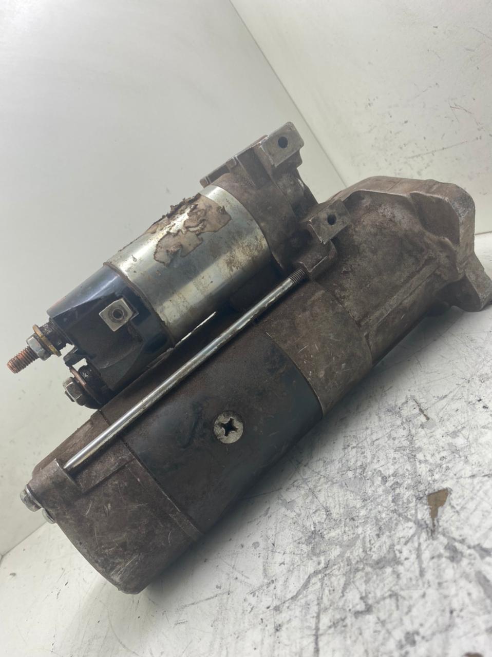 Motor de Partida Arranque CATERPILLAR 315 320 MITSUBISHI 24V 10D 1252988 M008T60871 M8T60871 008T60873 32B66 02102