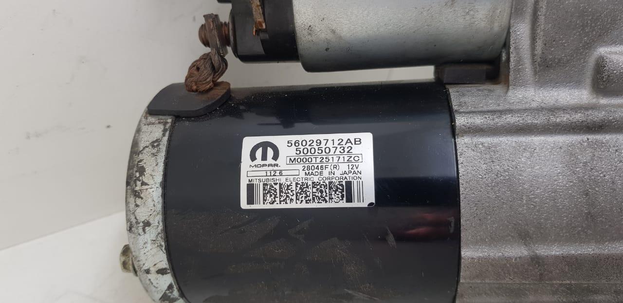 Motor de Partida Jeep Compass TORO 2.4 56029712AB M000T25171ZC 50050732