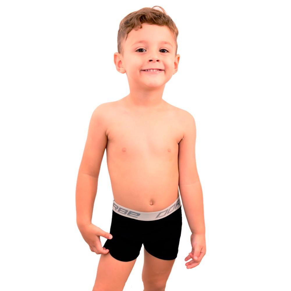 Kit 5 Cuecas Boxer Algodão Infantil