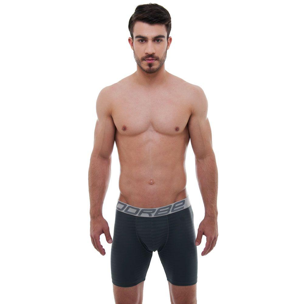 Kit 5 Cuecas Long Leg Microfibra New Skin
