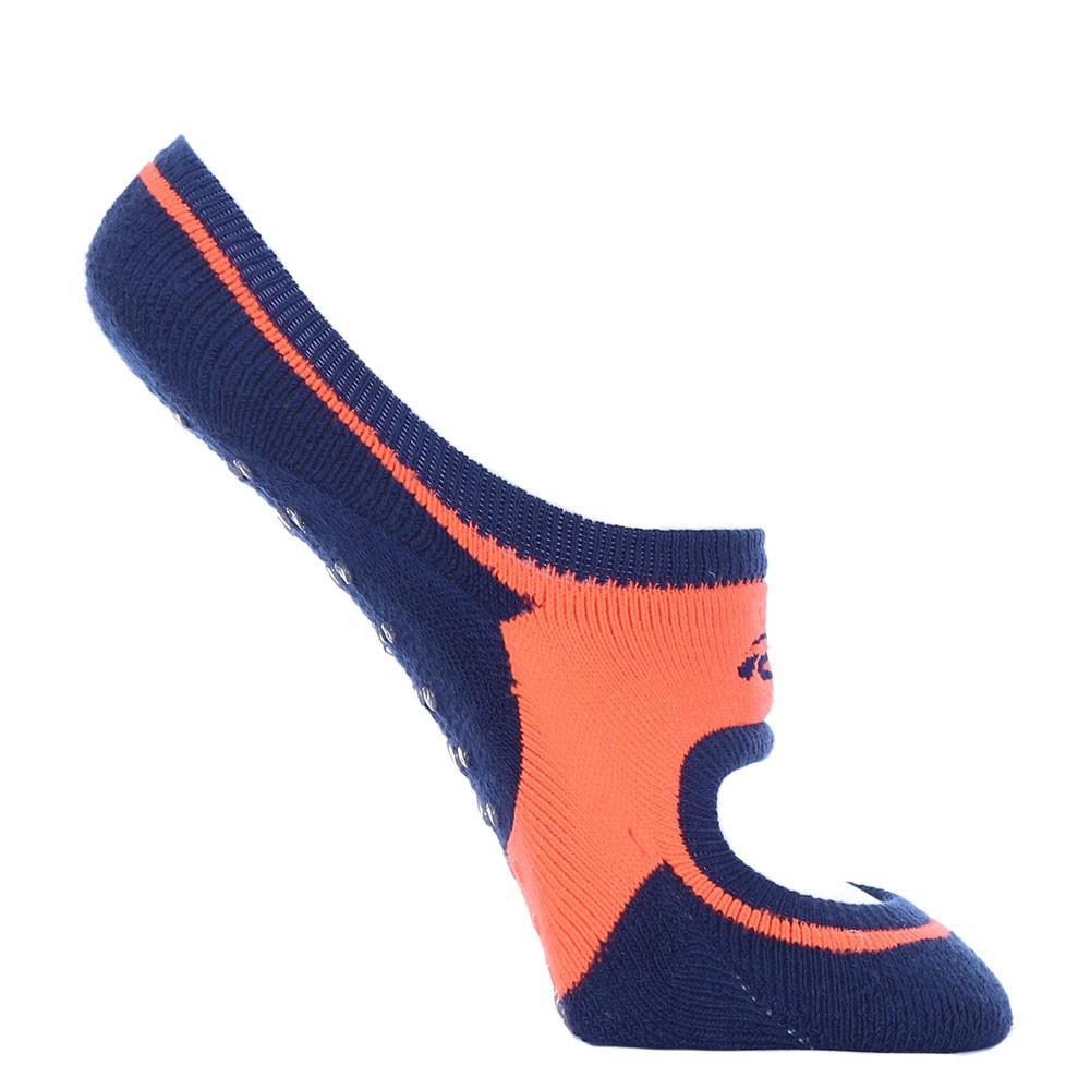Kit 6 pares meia antiderrapante sem costura pilates feminina