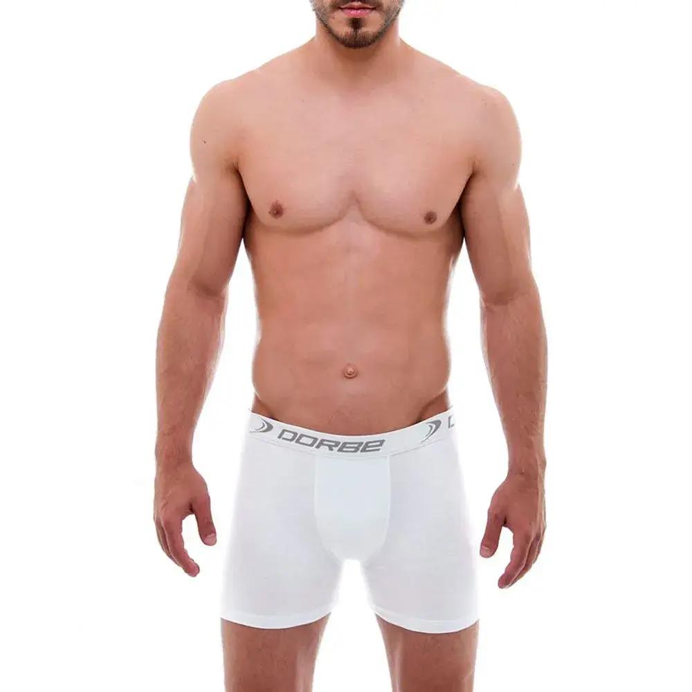 Kit com 10 Cuecas Boxer de Algodão - Moda íntima Masculina