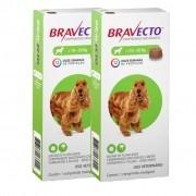 2 Bravecto Comprimido Mastigável para cães de 10 a 20 Kg- BLACK WEEK