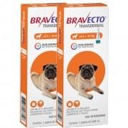 2 Bravecto Transdermal (Pipeta) Cães de 4,5 a 10 kg - BLACK WEEK