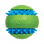 Bola Resistente Kong Squeezz Goomz Ball Com Apito Para Cães XG