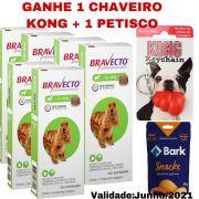 Bravecto Combo 6 caixas cães de 10 a 20 kg + 2 BRINDES