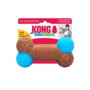 Brinquedo de morder roer osso CoreStrength Bamboo Bone para cães
