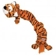 Brinquedo de Pelúcia gigante para cães Stretchezz Tigre Jumbo Kong