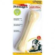 Brinquedo de roer nylon sabor frango Chick a Bone Petstages para cães G