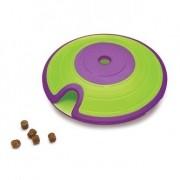 Brinquedo Interativo Dispenser de petiscos ração Treat Maze Nina Ottosson nível intermediário