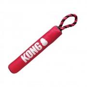 Brinquedo Interativo e Aquático Signature Stick With Rope KONG para cães