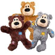 Brinquedo Pelúcia Kong Wild Knots Bear - Urso de Pelúcia com corda Resistente
