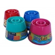 Comedouro Alto Lento Dog Eat Pet Games para cães