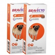 2 Bravecto Comprimido de 4,5 a 10 kg cães BLACK WEEK